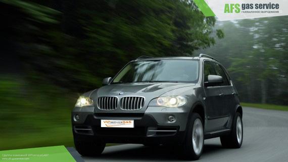 ГБО на BMW X5 4.8. Газ на БМВ Х5 4.8