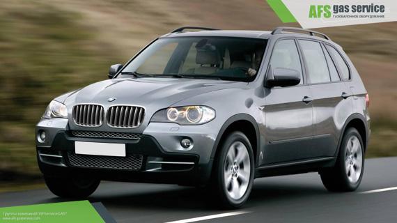 ГБО на BMW X5 3.0. Газ на БМВ Х5 3.0