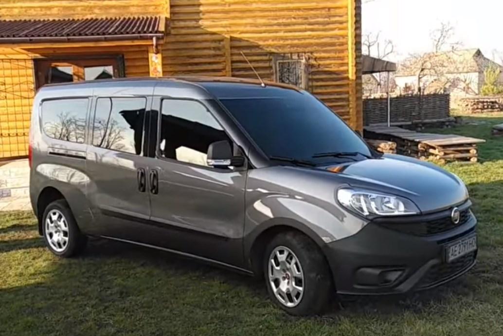 Установка гбо на Fiat Doblo 2016