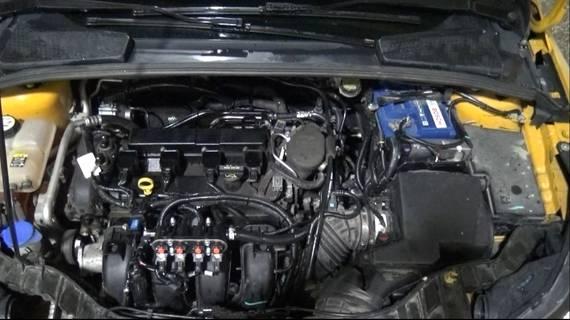 ГБО на Ford Focus 1.6. Газ на Форд Фокус 1.6
