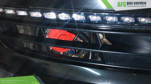 ГБО на Audi Q7 4.2 FSI. Газ на Ауди Кью 7 4.2 ФСИ