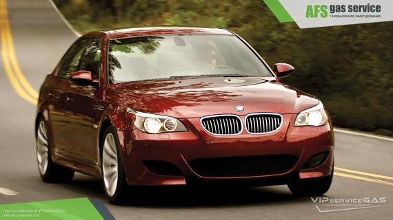 ГБО на BMW M5 5.0 V10. Газ на БМВ м5 5.0