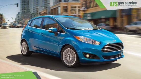 ГБО на Ford Fiesta 1.6. Газ на Форд Фиеста 1.6