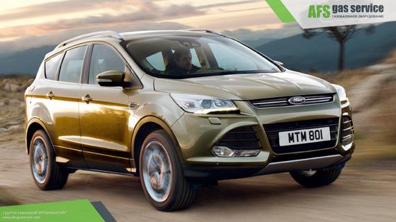 ГБО на Ford Kuga EcoBoost. Газ на Форд Куга Экобуст