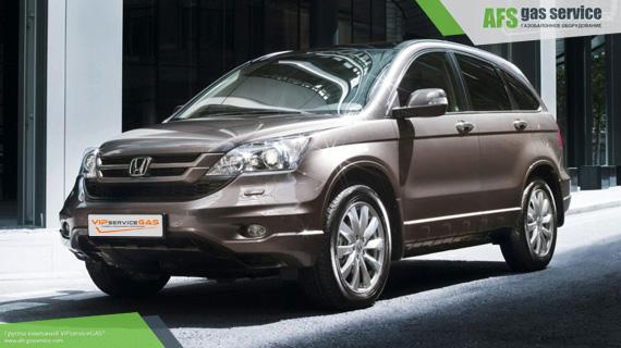 ГБО на Honda CR-V 2.4. Газ на Хонда СР В 2.4