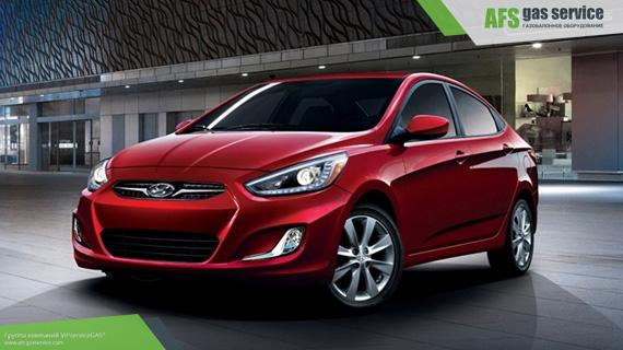 ГБО на Hyundai Accent 1.6. Газ на Хюндай Акцент 1.6