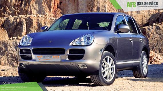 ГБО на Porsche Cayenne S 4.5 V8. Газ на Порше Кайенн С 4.5