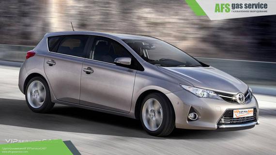 ГБО на Toyota Auris 1.6. Газ на Тойота Аурис 1.6