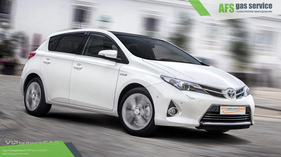 ГБО на Toyota Auris 1.3. Газ на Тойота Аурис 1.3