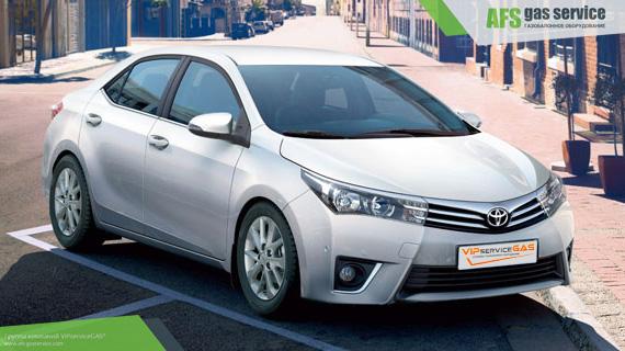 ГБО на Toyota Corolla 1.6. Газ на Тойота Королла 1.6