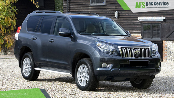 ГБО на Toyota Land Cruiser Prado 2.7. Газ на Тойота Ленд Крузер Прадо 2.7