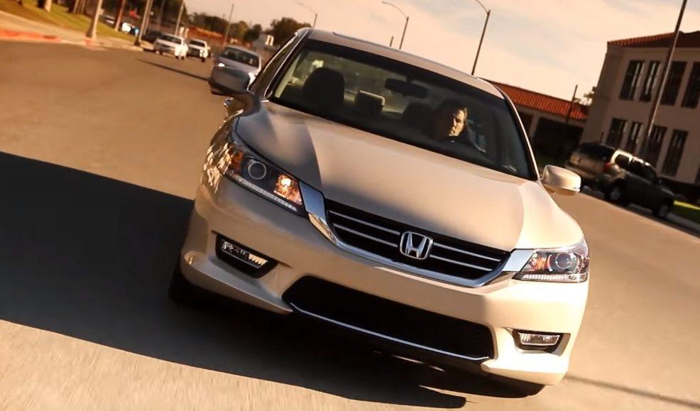 Установка гбо на Honda Accord 2014