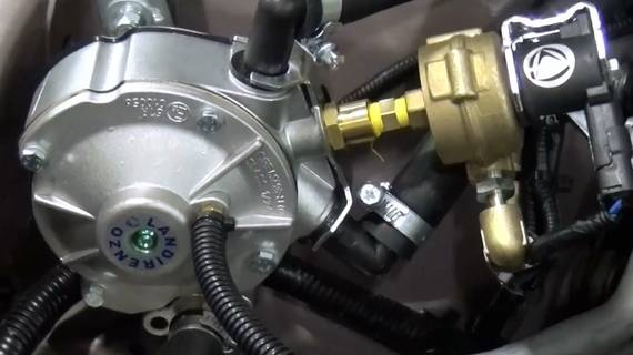ГБО на Hyundai Matrix 1.6. Газ на Хонда Хюндай Матрикс 1.6