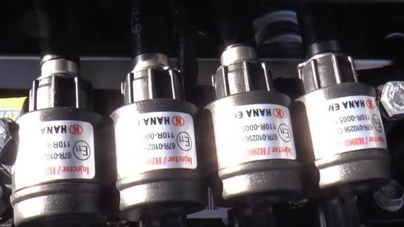 ГБО на Hyundai Santa Fe 2.4. Газ на Хюндай Санта Фе 2.4