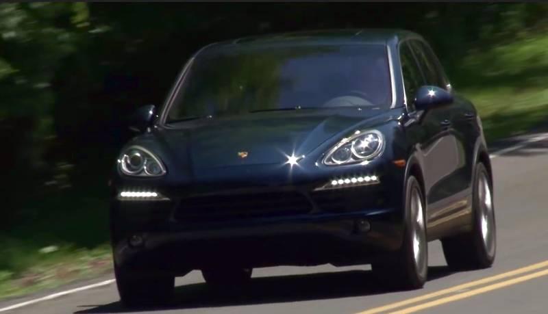 Гбо на Porsche Cayenne