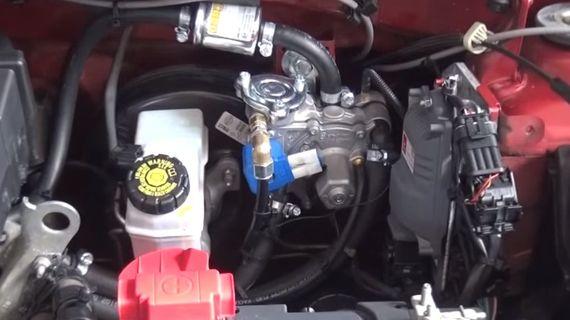 ГБО на Renault Duster 2.0. Газ на Рено Дастер 2.0