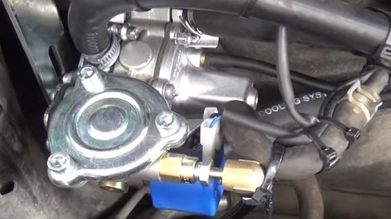 ГБО на Toyota RAV4 2.0. Газ на Тойота РАВ4 2.0